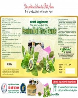 Premium Noni Extract Granule